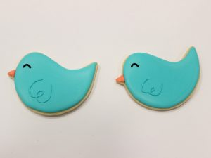 blue bird cookies