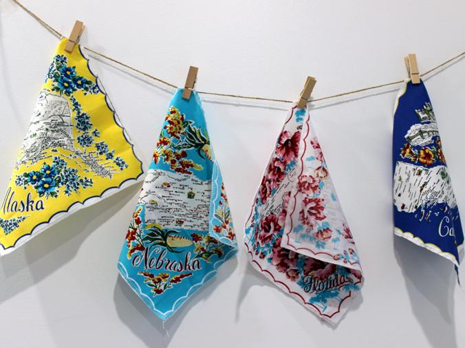 bunting hanging hankerchief